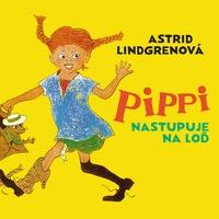 Pippi nastupuje na loď - CD (audiokniha)