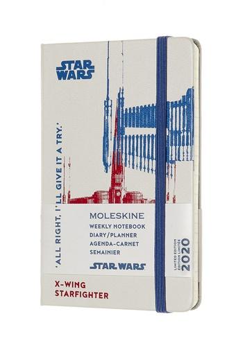 Star Wars plánovací zápisník Moleskine 2020 S