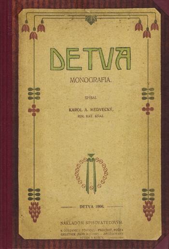 Detva. Monografia