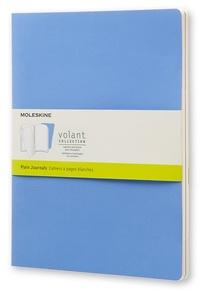 Volant zápisníky 2 ks čisté světle modré XL