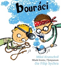 Bouráci - MP3 CD (audiokniha)