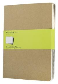 Sešity 3ks, čistý, karton XL