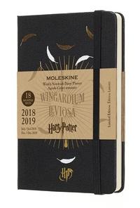 Harry Potter plánovací zápisník černý 2018-2019 S