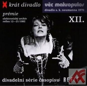 Věc Makropulos - DVD (divadelné predstavenie)