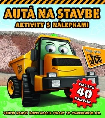 Autá na stavbe. Aktivity s nálepkami