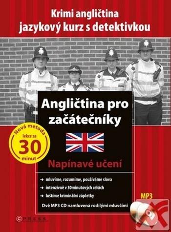 Angličtina pro začátečníky. Krimi angličtina - jazykový kurz s detektivkou + 2CD