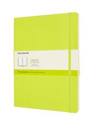 Zápisník Moleskine měkký čistý žlutozelený XL