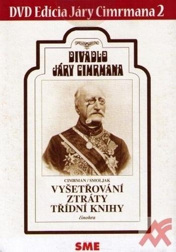 Divadlo Járy Cimrmana 2 - Vyšetřování ztráty třídní knihy - DVD