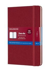 Two-go zápisník Moleskine červený M