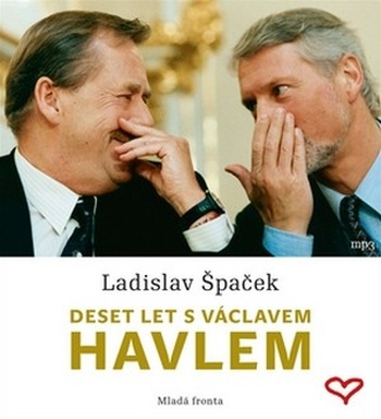 Deset let s Václavem Havlem - CD MP3 (audiokniha)