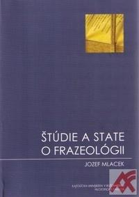Štúdie a state o frazeológii