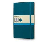 Zápisník, tečkovaný, měkký světle modrý L