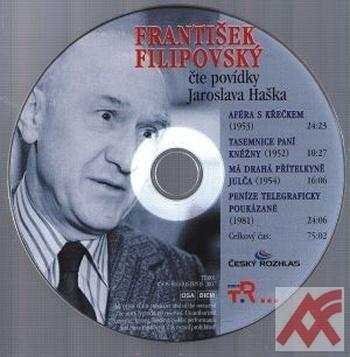 František Filipovský čte povídky Jaroslava Haška - CD