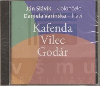 Kafenda, Vilec, Godár - CD