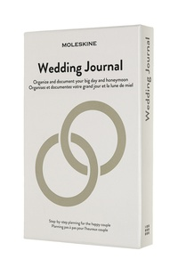 Passions Moleskine zápisník Wedding
