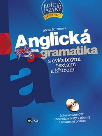 Anglická gramatika s cvičebnými textami a kľúčom + CD
