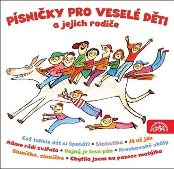 Písničky pro veselé děti a jejich rodiče - 2CD (audiokniha)