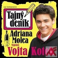 Tajný deník Adriana Molea - CD (audiokniha)