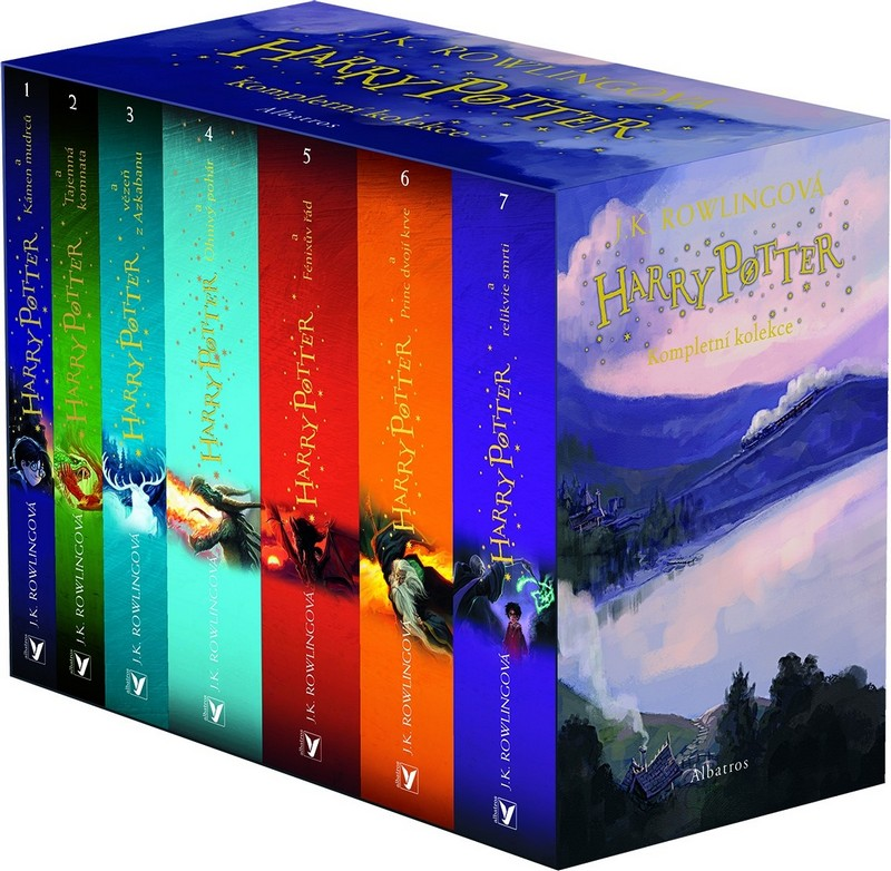 Harry Potter - box 1-7