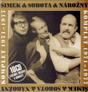 Šimek & Sobota & Nárožný. Komplet 1971-1977 - 10 CD (audiokniha)