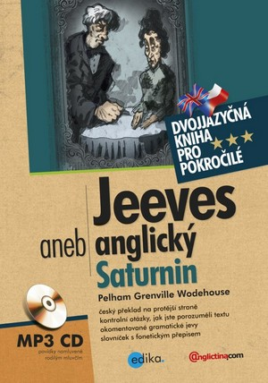 Jeeves aneb anglický Saturnin + CD MP3