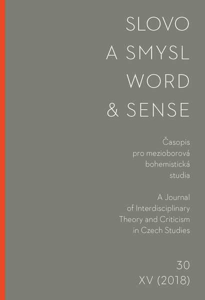 Slovo a smysl 30 / Word & Sense 30
