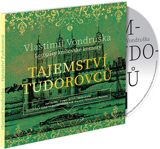 Tajemství Tudorovců - CD MP3 (audiokniha)