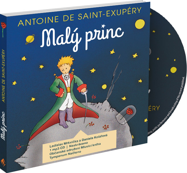 Malý princ - CD MP3 (audiokniha)