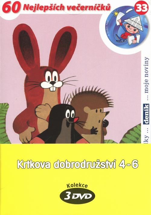 Krtkova dobrodružství 4-6 - 3 DVD