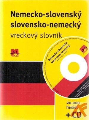 Nemecko-slovenský a slovensko-nemecký vreckový slovník + CD