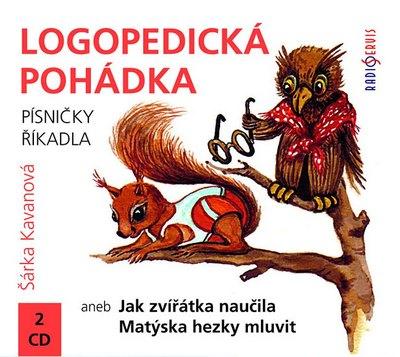 Logopedická pohádka - 2 CD (audiokniha)