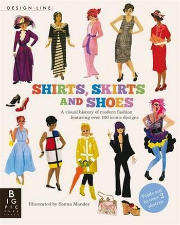 Shirts, Skirts and Shoes. Design Line