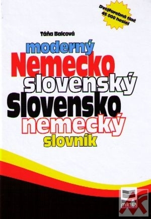 Moderný nemecko-slovenský, slovensko-nemecký slovník