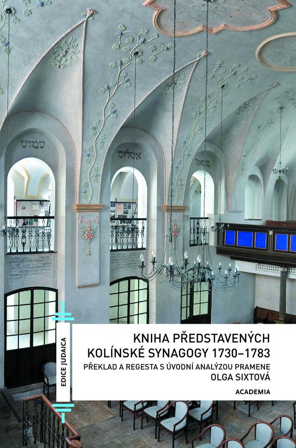 Kniha představených kolínské synagogy 1730-1783