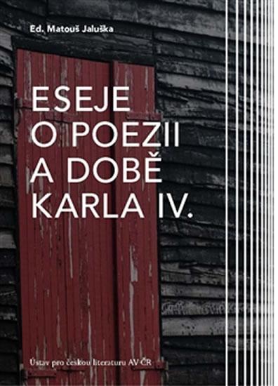 Eseje o poezii a době Karla IV. + CD