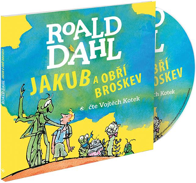 Jakub a obří broskev - CD MP3 (audiokniha)