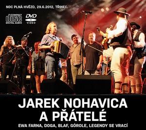 Jarek Nohavica a přátelé - 2CD + DVD