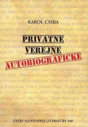 Privátne - verejné - autobiografické