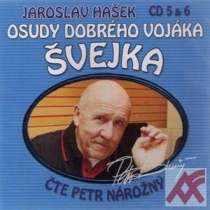 Osudy dobrého vojáka Švejka - CD 5 & 6 (audiokniha)