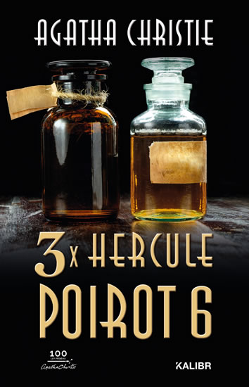 3x Hercule Poirot 6 (české vydanie)