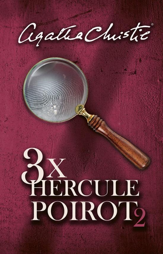 3x Hercule Poirot 2 (slovenské vydanie)