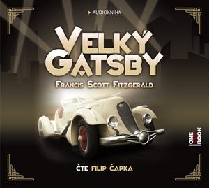 Velký Gatsby - CD MP3 (audiokniha)