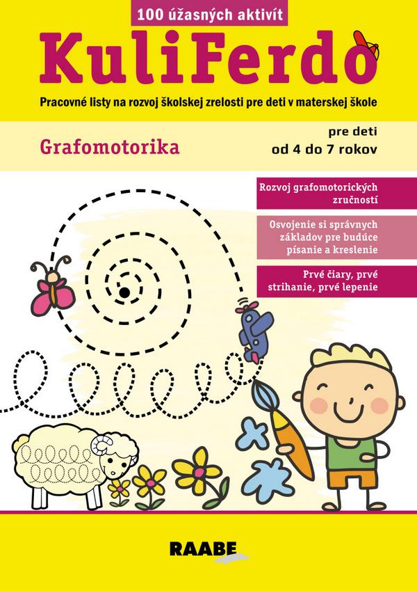 KuliFerdo - Grafomotorika pre deti od 4 do 7 rokov