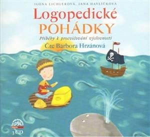 Logopedické pohádky. Příběhy k procvičování výslovnosti - 3 CD (audiokniha)