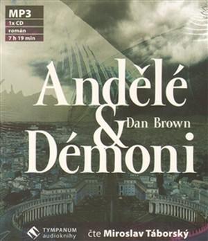 Andělé & Démoni - CD MP3 (audiokniha)