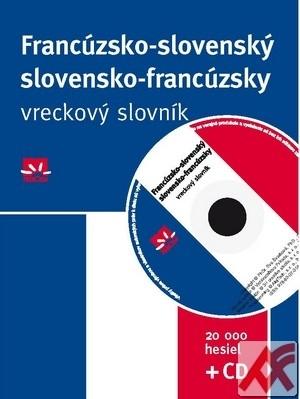 Francúzsko-slovenský a slovensko-francúzsky vreckový slovník - 20 000 hesiel + C
