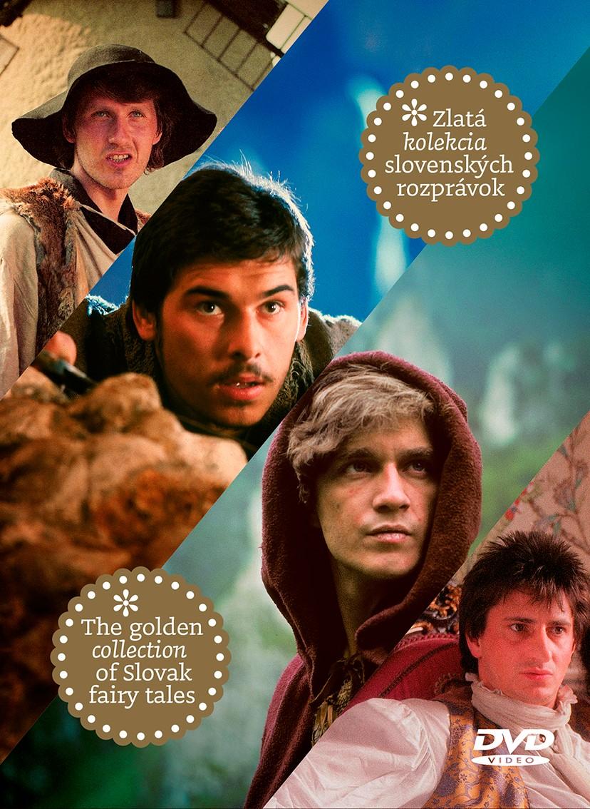 Zlatá kolekcia slovenských rozprávok - 4 DVD