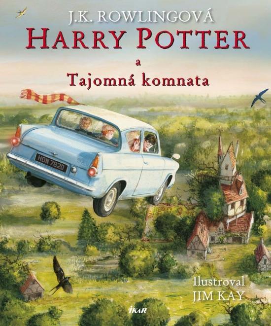 Harry Potter a Tajomná komnata - Ilustrovaná edícia