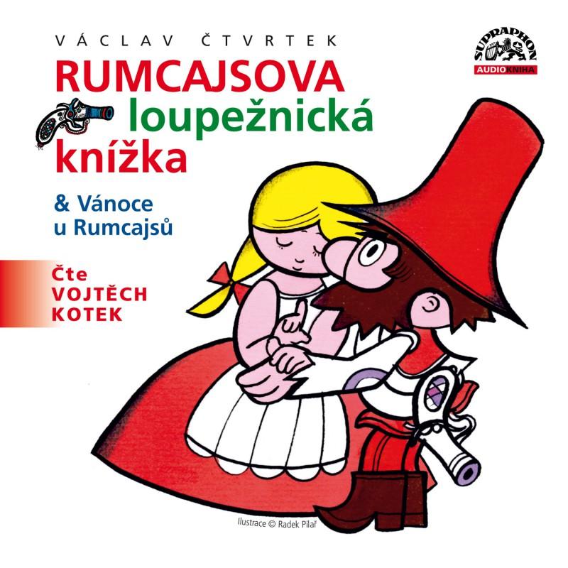 Rumcajsova loupežnická knížka & Vánoce u Rumcajsů - CD (audiokniha)
