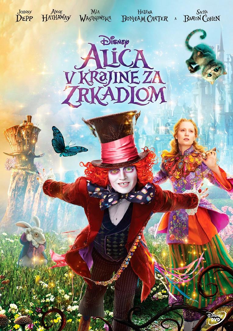 Alica v krajine za zrkadlom - DVD